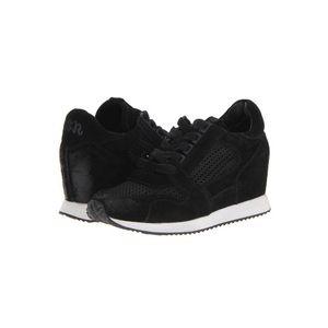 Ash black wedge sneakers